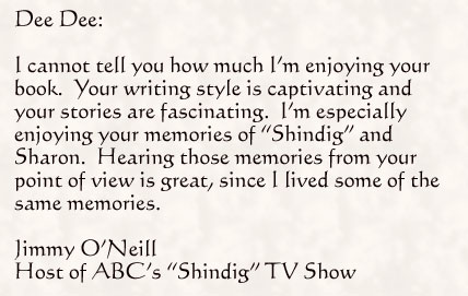 "review of Vinyl Highway from Jimmy O'Neill Host of ABC's ""Shindig"" TV Show"